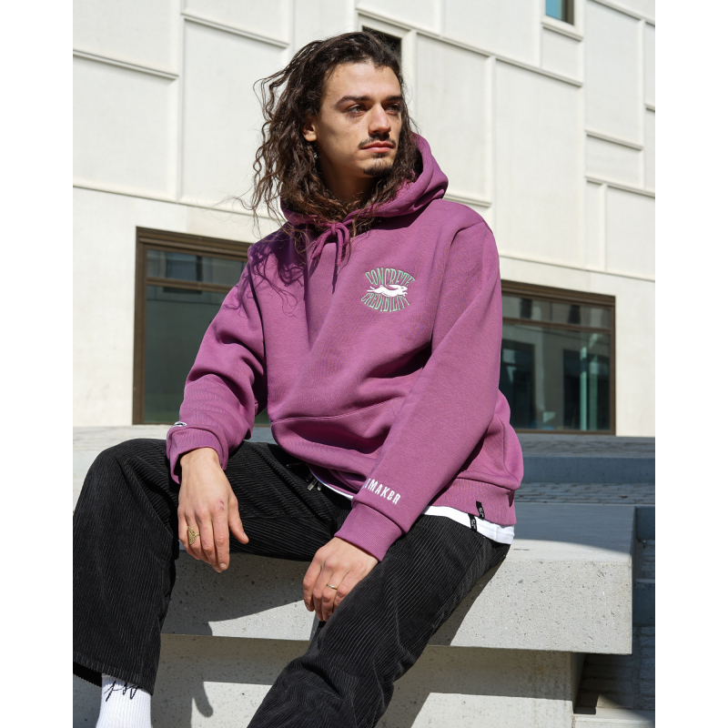 Pacemaker CONCRETE CRED BLOW UP HOODIE