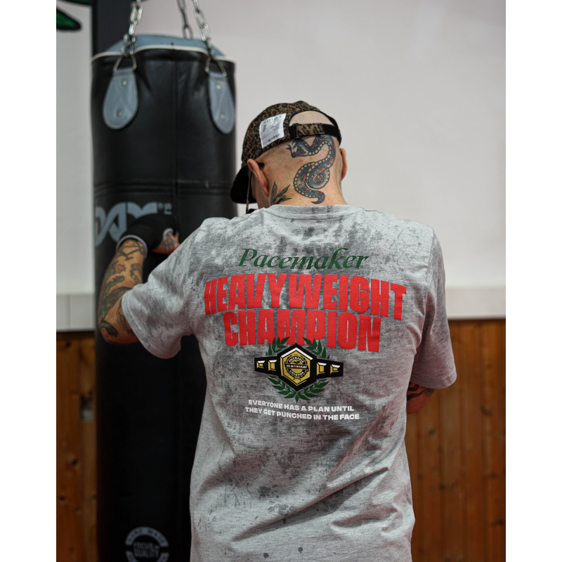 Pacemaker HEAVY WEIGHT CHAMPION LOGO T